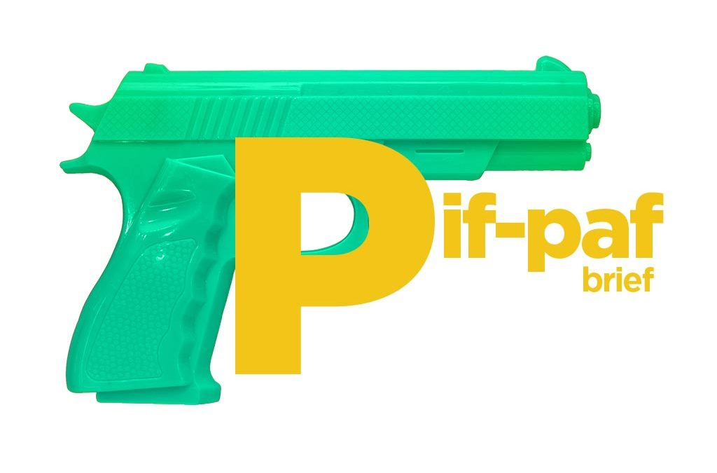 Pif-paf brief. Jak trafić w sedno