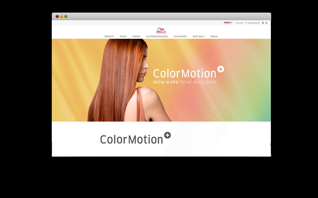 Wella Color Motion+