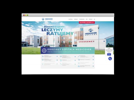 Szpital Medicover Landing Page